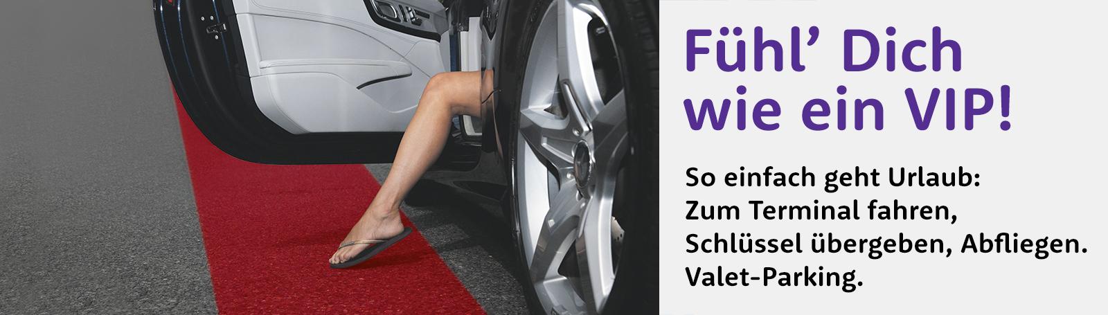 Valet Parking - Fühl' dich wie ein VIP