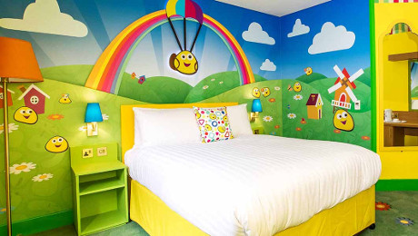 Cbeebies Hotel Room at Alton Towers