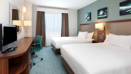 Hilton Garden Inn family rooms
