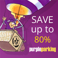 Save up to 80% on Edinburgh Airport Parking at Purple Parking