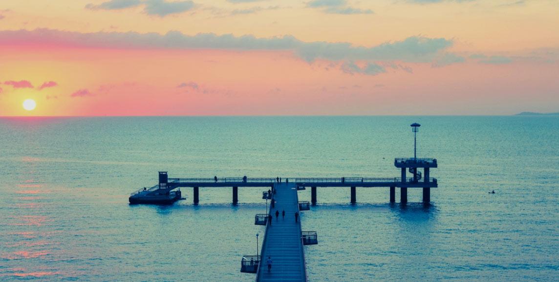Burgas sunset