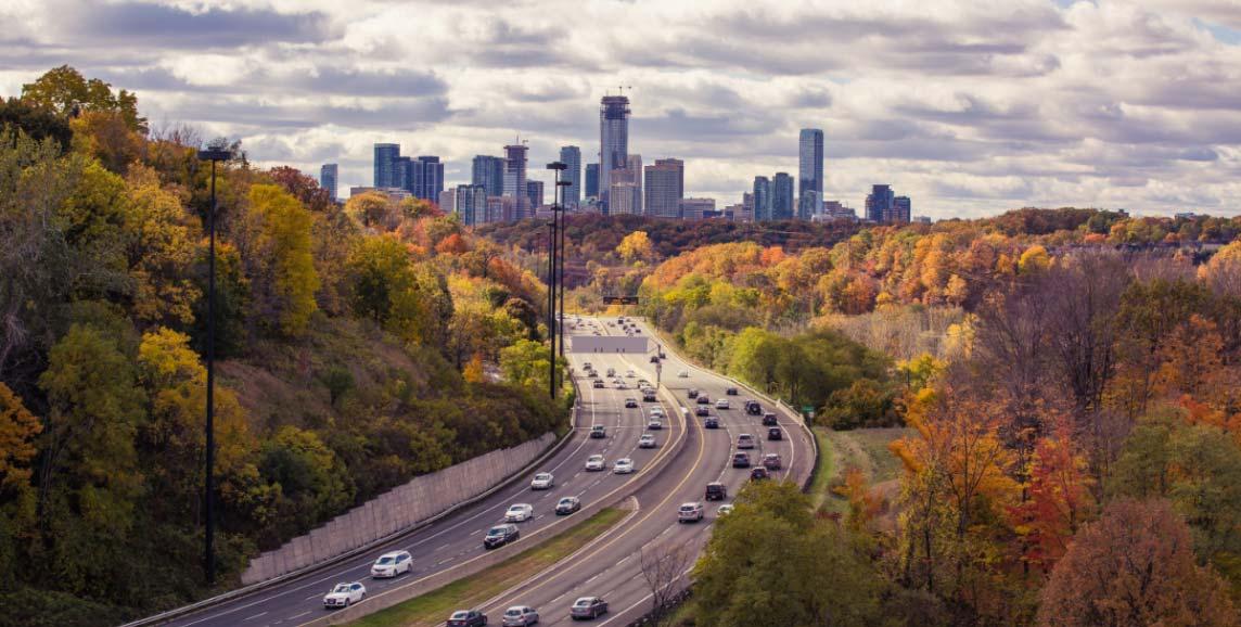 Toronto in Fall