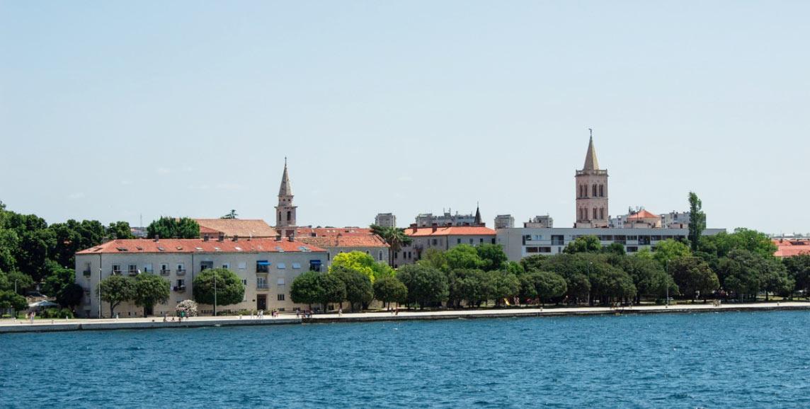 Zadar skyline