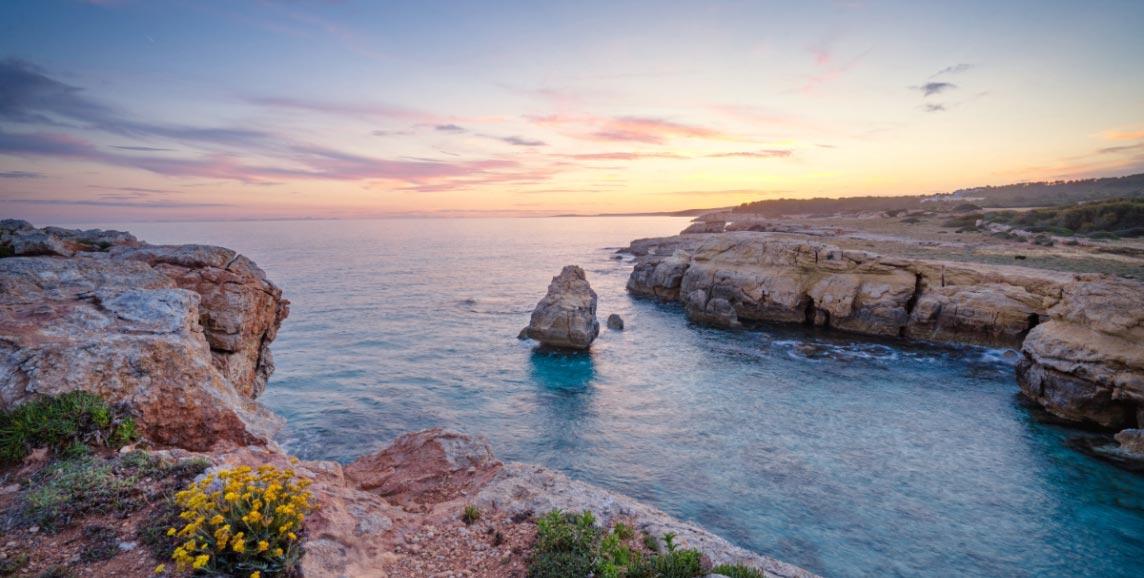 Menorcan coast