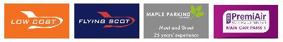 bristol airport parking discount logo banner