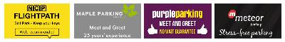 heathrow airport parking discount logo banner