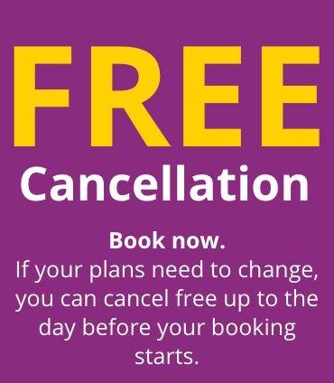 Cancellation banner