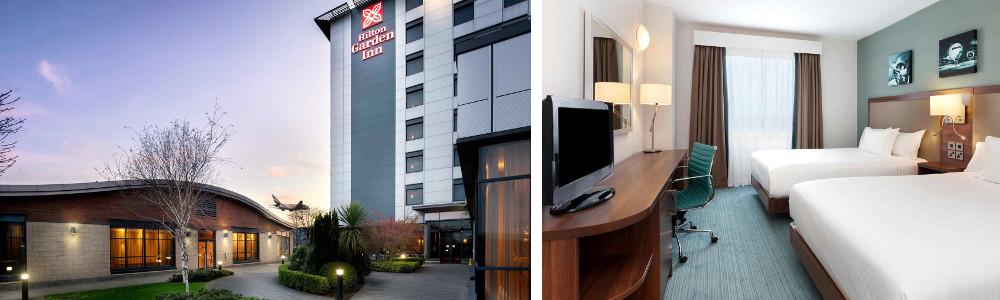 The Hilton Garden Inn near the LEGOLAND Windsor Resort