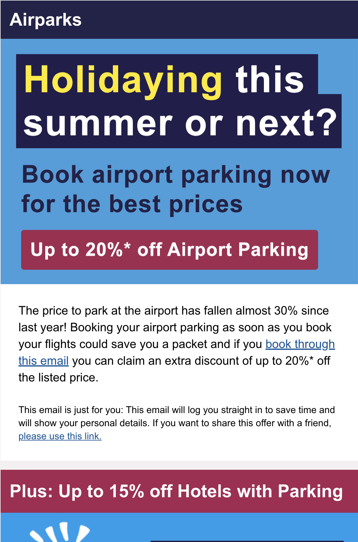 Airparks Luton Newsletter