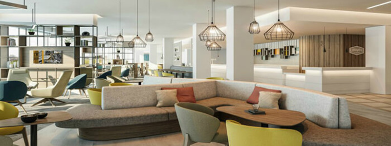 Relax in the Hampton by Hilton at Edinburgh Airport