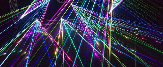 Benidorm Laser show