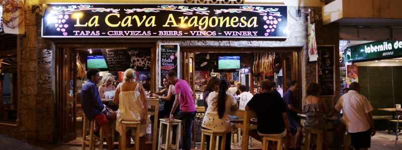 Benidorm Restuarants La Cava Aragones