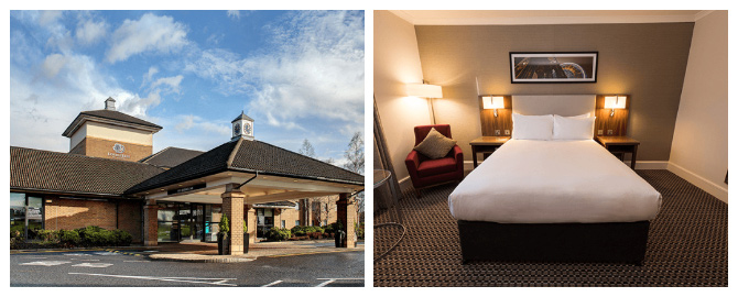 doubletree by hilton edinburgh airport hotels exterior and bedroom