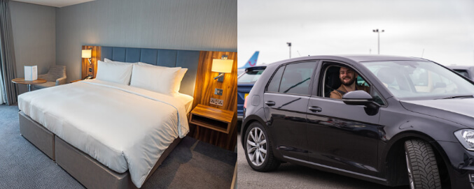 London Heathrow hotels with parking